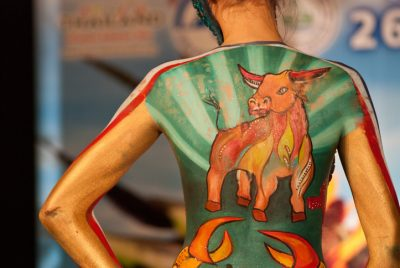 San Antonio body paint