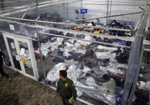 Migrant Children, Unaccompanied, Arrive at a Second Emergency Shelter